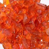 Chunky Orange Size 3 Terrazzo Glass - 1 Lbs