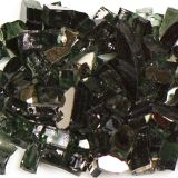 Tempered Reflective Black Size 2 Terrazzo Glass - 22 Lbs. Bag