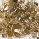Tempered Reflective Bronze Size 2 Terrazzo Glass - 10 Lbs. Bag