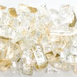 Tempered Reflective Clear Medium Terrazzo Glass - 10 Lbs. Bag