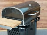 Freestanding Stainless Steel Hybrid Grill - Natural Gas