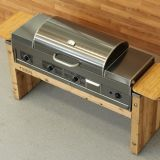 Built-In Natural Gas Hybrid Grill - GRILL HEAD ONLY