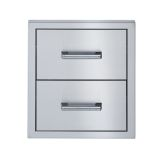 Broilmaster BSAW2022D Stainless Steel Double Drawer