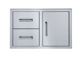 Broilmaster BSAW3422SD Single Door with Double Drawer