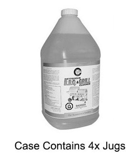 Ez-Clean 4L Jug BBQ & Oven Cleaner - 4 Per Case