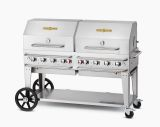 60'' Rental Mobile Grill w/Roll Dome - Bulk Propane Tanks Model