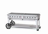 Pro Series 72'' Rental Mobile Grill - Bulk Propane Tanks Model