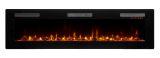 Sierra 72'' Wall/Built-In Linear Fireplace