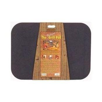 "The Original Rectangle Black Grill Pad - 30"" x 42"""