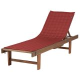 "Montlake FadeSafe Patio Chaise Lounge Slipcover, 72"" x 21"""