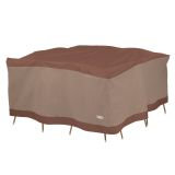 Duck Covers Ultimate Square Table and Chair Set Cover 68 in W