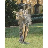 Design Toscano CL4974 Rhiannon the Archer Garden Fairy Statue