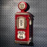 Design Toscano SY5839 Route 66 Gas Pump Big Boy Toy Key Cabinet