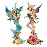 Flower Fairies of Butterfly Hollow Set - Tea Rose & Wild Rose Fairies