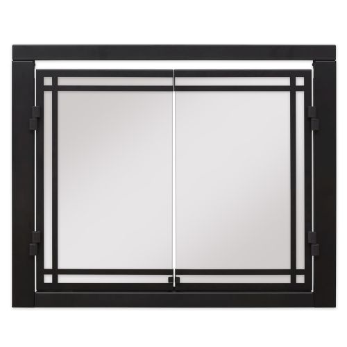 "Dimplex 36"" Portrait Revillusion Double Glass Doors"