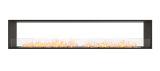 ESF.FX.104DB Flex Double Sided Bioethanol Firebox-104DB-Black Finish