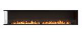 ESF.FX.104LC Flex Left Corner Bioethanol Firebox-104LC-Black Finish
