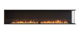 ESF.FX.104RC Flex Right Corner Bioethanol Firebox-104RC-Black Finish