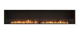 ESF.FX.104SS Flex Single Sided Bioethanol Firebox-104SS-Black Finish