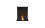 EcoSmart ESF.FX.18BY Flex Bay Bioethanol Firebox-18BY-Black Finish