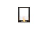 ESF.FX.18DB Flex Double Sided Bioethanol Firebox-18DB-Black Finish