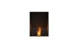 ESF.FX.18SS Flex Single Sided Bioethanol Firebox-18SS-Black Finish
