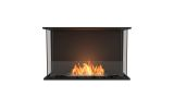 EcoSmart ESF.FX.32BY Flex Bay Bioethanol Firebox-32BY-Black Finish