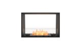 ESF.FX.32DB Flex Double Sided Bioethanol Firebox-32DB-Black Finish