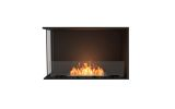 ESF.FX.32LC Flex Left Corner Bioethanol Firebox-32LC-Black Finish