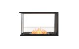 ESF.FX.32PN Flex Peninsula Bioethanol Firebox-32PN-Black Finish