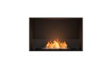 ESF.FX.32SS Flex Single Sided Bioethanol Firebox-32SS-Black Finish