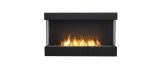 EcoSmart ESF.FX.50BY Flex Bay Bioethanol Firebox-50BY-Black Finish