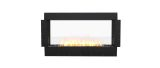 ESF.FX.50DB Flex Double Sided Bioethanol Firebox-50DB-Black Finish
