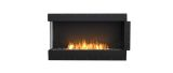 ESF.FX.50LC Flex Left Corner Bioethanol Firebox-50LC-Black Finish