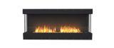 EcoSmart ESF.FX.68BY Flex Bay Bioethanol Firebox-68BY-Black Finish