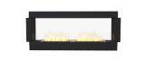 ESF.FX.68DB Flex Double Sided Bioethanol Firebox-68DB-Black Finish