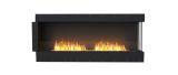 ESF.FX.68RC Flex Right Corner Bioethanol Firebox-68RC-Black Finish