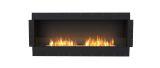 ESF.FX.68SS Flex Single Sided Bioethanol Firebox-68SS-Black Finish