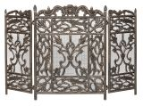 Dagan AHS900 3 Fold Cast Aluminum Screen in Antique Bronze