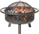 Dagan FP-1024 Criss Cross Style Design Fire Pit in Bronze