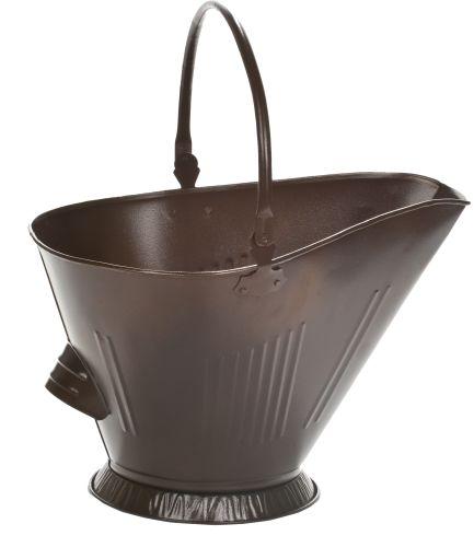 Dagan 1510B Bronze Steel Coal Hod with Handle
