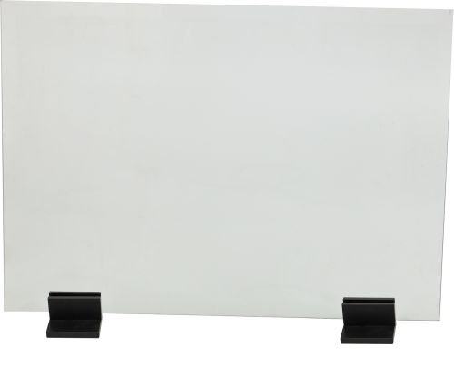 Dagan AH-GS-BLK Base in Black For Glass Screen - Set of 2