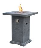 Elementi OFG221 Montreal Bar Fire Table - LP