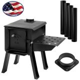 """CUB"" Portable Camp/Cook Wood Stove Kit"