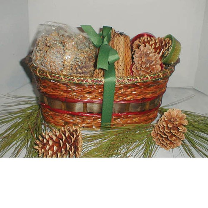 Medium Oval Basket Sampler w/Rope Band