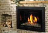 Direct Vent Millivolt Fireplace Insert w/Glass Support Platform - NG