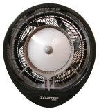 EcoJet 030103 Cyclone Wall Mount Misting Fan in Black