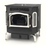 Country Flame Harvester Flex-Fuel Stove with Brushed Nickel Door