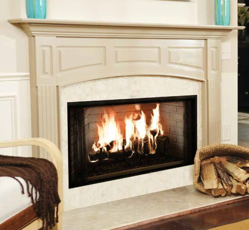 "Majestic 36"" Royalton Radiant Wood Burning Fireplace"