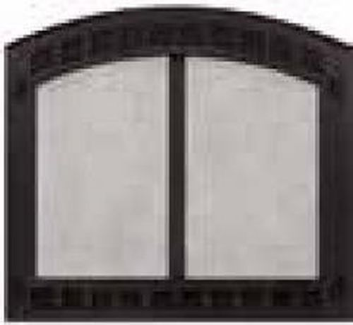 Contour Cabinet Style Mesh Doors w/Frame for SB80 and SB80HB - Black